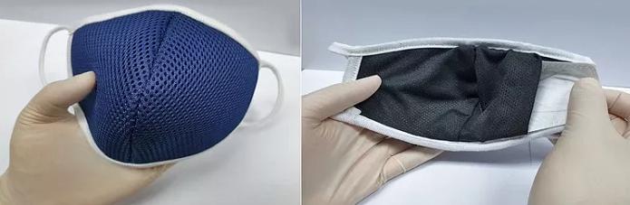 Máscara de Nanofibras Reutilizáveis Para Proteção do COVID-19
