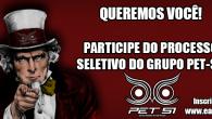 O grupo PET-SI, do Curso de Sistemas de Informação da Escola de Artes, Ciências e Humanidades da Universidade de São Paulo, convida a todos os interessados a lerem o Edital […]
