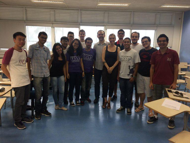 Café Filosófico – Coordenação do curso de Bacharelado em Sistemas de Informação, com o Prof. Dr. Luciano Digiampietri