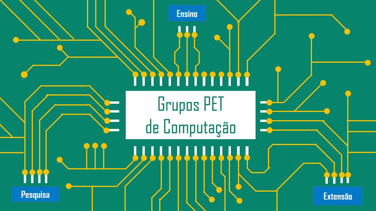 Reunião com os grupos PET na área da computação