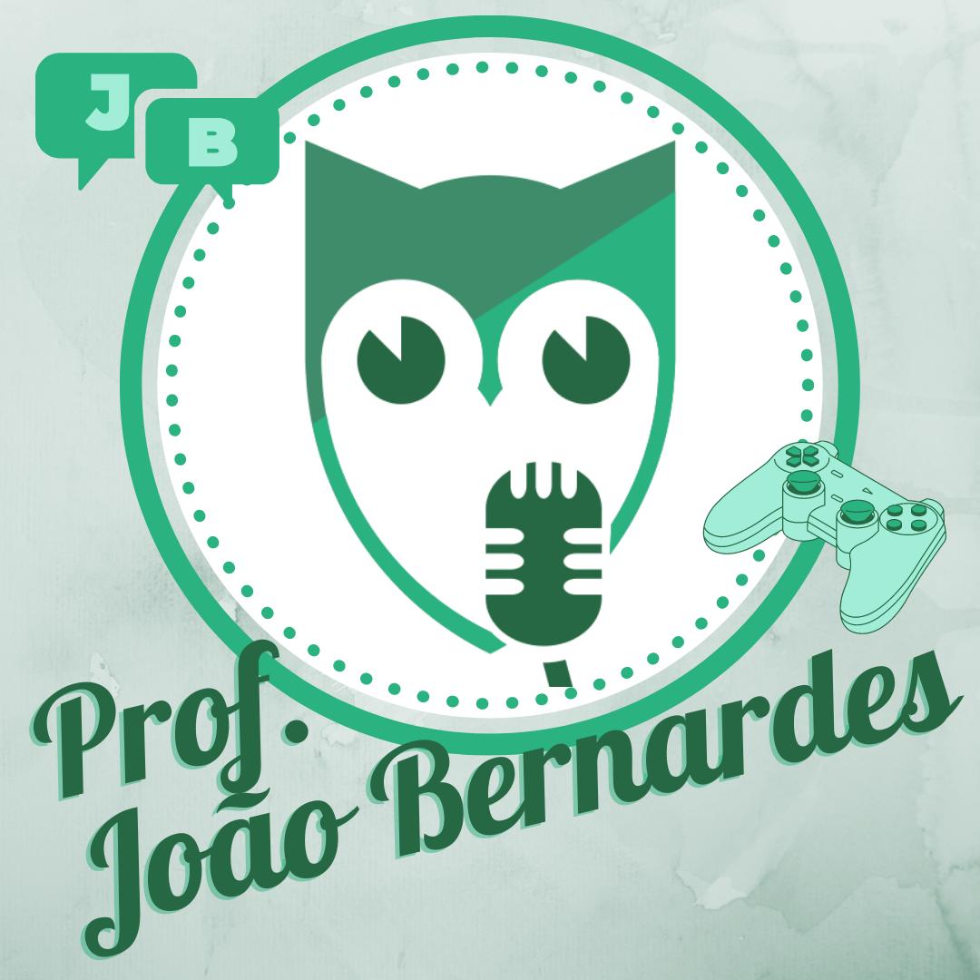 Prof. João Bernardes: coordenação, jogos e muita conversa